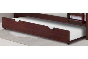 Donco Merlot Twin Trundle Bed