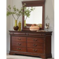 Elements Chateau Dresser and Mirror