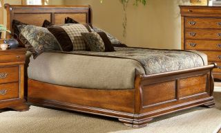 Elements Shenandoah Low Profile Bed with Headboard, Footboard and Rails