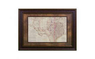 LMT Small 1876 Indian Territory Map