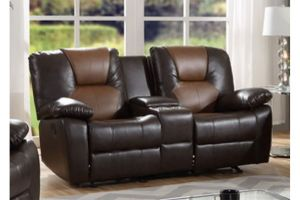 Master 6338 Brown Loveseat