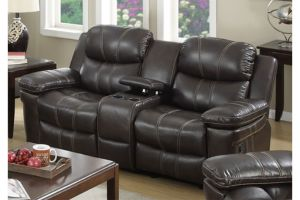 Master 8118 Dark Brown Loveseat