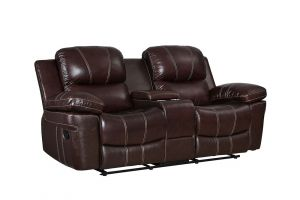 New Classic Legato Dark Brown Loveseat