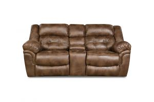 Simmons Wisconsin Chocolate Loveseat